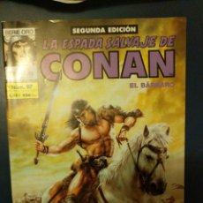 Cómics: LA ESPADA SALVAJE DE CONAN EL BÁRBARO 97. Lote 214581533