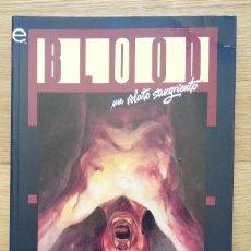 Cómics: BLOOD: UN RELATO SANGRIENTO (LÍNEA EPIC). Lote 214647630