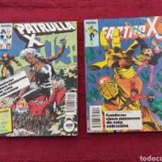 Cómics: RETAPADO PATRULLA X NUMEROS 62-63-64-65-66 /RETAPADO FACTOR X NUMEROS 16-17-18-19-20 /COMIC MUTANTES. Lote 214811303