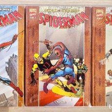 Cómics: SPIDERMAN STAN LEE Y STEVE DITKO EXCELSIOR COMPLETA 3 TOMOS TAPA DURA FORUM (1+2+3). Lote 214880358