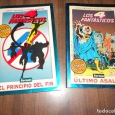 Cómics: LIBROS GRANDES SAGAS MARVEL: LOS 4 FANTASTICOS. Lote 214980807