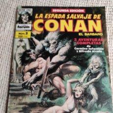 Cómics: LA ESPADA SALVAJE DE CONAN Nº 2 - 2ª EDICION. Lote 293896768