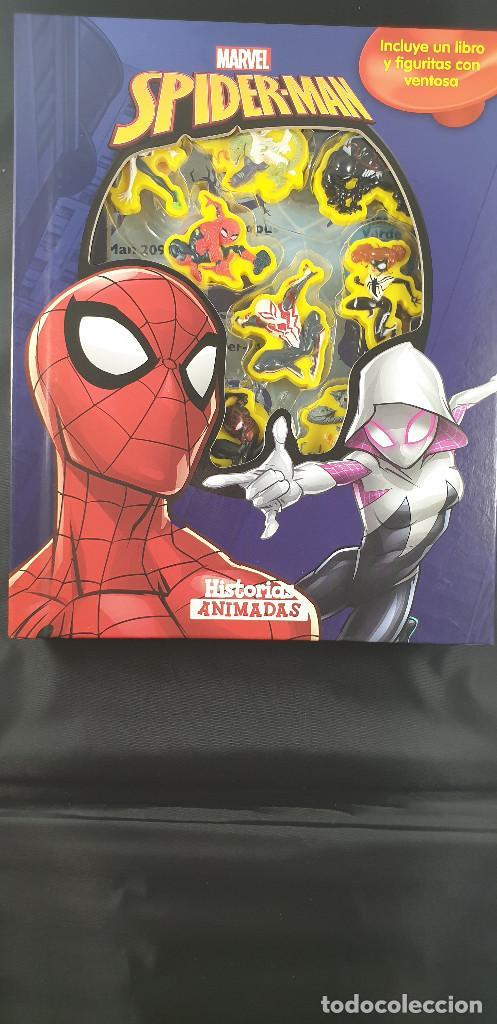 LIBRO-SPIDERMAN-MARVEL-MANTEL CON FIGURAS-CUENTOS-VER FOTOS (Tebeos y Comics - Forum - Spiderman)