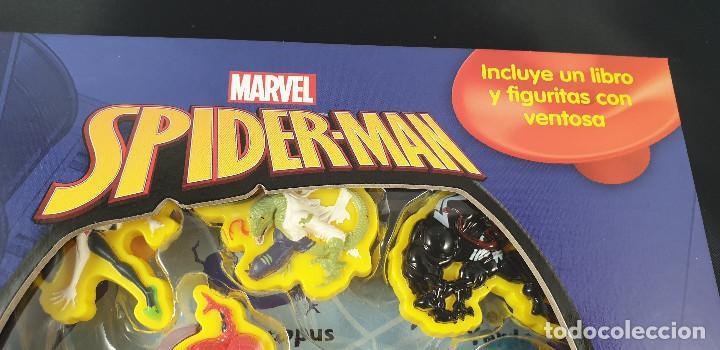 Cómics: LIBRO-SPIDERMAN-MARVEL-MANTEL CON FIGURAS-CUENTOS-VER FOTOS - Foto 3 - 215083848