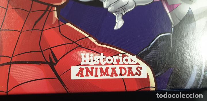 Cómics: LIBRO-SPIDERMAN-MARVEL-MANTEL CON FIGURAS-CUENTOS-VER FOTOS - Foto 5 - 215083848