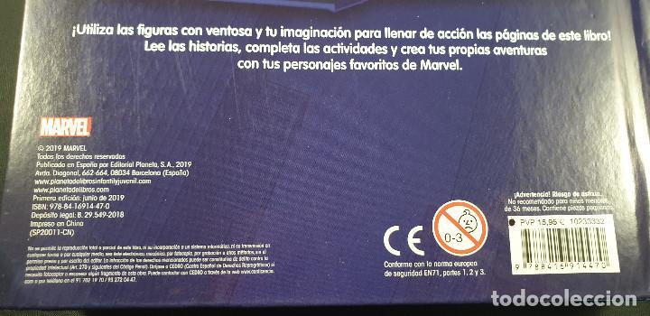 Cómics: LIBRO-SPIDERMAN-MARVEL-MANTEL CON FIGURAS-CUENTOS-VER FOTOS - Foto 9 - 215083848