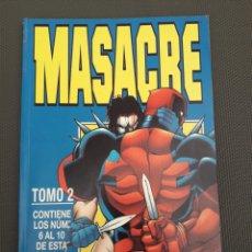 Cómics: MASACRE DEADPOOL VOL 3. TOMO CON LOS NÚMEROS 6,7,8,9 Y 10. EXCELENTE ESTADO. Lote 215153762