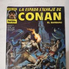 Cómics: LA ESPADA SALVAJE DE CONAN Nº 103.. Lote 215193955