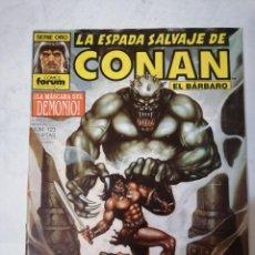 Comics : LA ESPADA SALVAJE DE CONAN Nº 123.. Lote 215194530