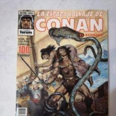 Cómics: LA ESPADA SALVAJE DE CONAN Nº 127.ESPECIAL 100 PÁGINAS.. Lote 215195176