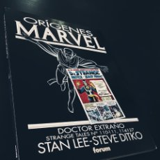 Cómics: EXCELENTE ESTADO ORIGENES MARVEL VOL 8 DOCTOR EXTRAÑO TOMO FORUM. Lote 215229886