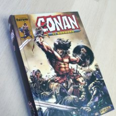 Cómics: EXCELENTE ESTADO CONAN 1 TOMO INTEGRAL FORUM PLANETA. Lote 215313870