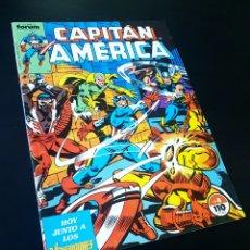 Cómics: EXCELENTE ESTADO CAPITAN AMERICA 8 FORUM. Lote 215314488