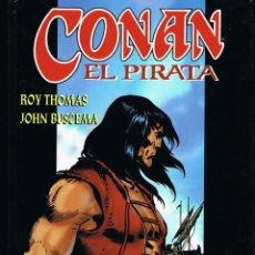 Cómics: CONAN EL PIRATA TOMO 1 LA CALAVERA DE LOS MARES POR ROY THOMAS Y JOHN BUSCEMA. Lote 215340340