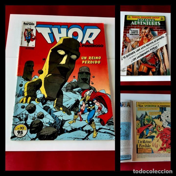 THOR. VOL 1. Nº 10. FORUM -EXCELENTE ESTADO (Tebeos y Comics - Forum - Thor)
