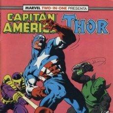 Cómics: CAPITÁN AMÉRICA VOL. 1 / MARVEL TWO-IN-ONE: CAPITÁN AMERICA & THOR VOL. 1 (1985-1992) #65. Lote 215504926