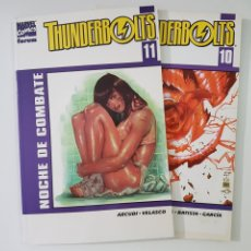 Cómics: THUNDERBOLTS VOLUMEN 2 - TOMOS 10 Y 11 - FORUM - MARVEL. Lote 215585086
