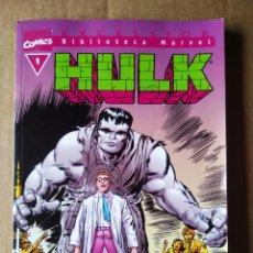 Cómics: BIBLIOTECA MARVEL HULK N°1 (FORUM, 2004). POR STAN LEE, JACK KIRBY, JOHN ROMITA, PETER DAVID.... Lote 215638886