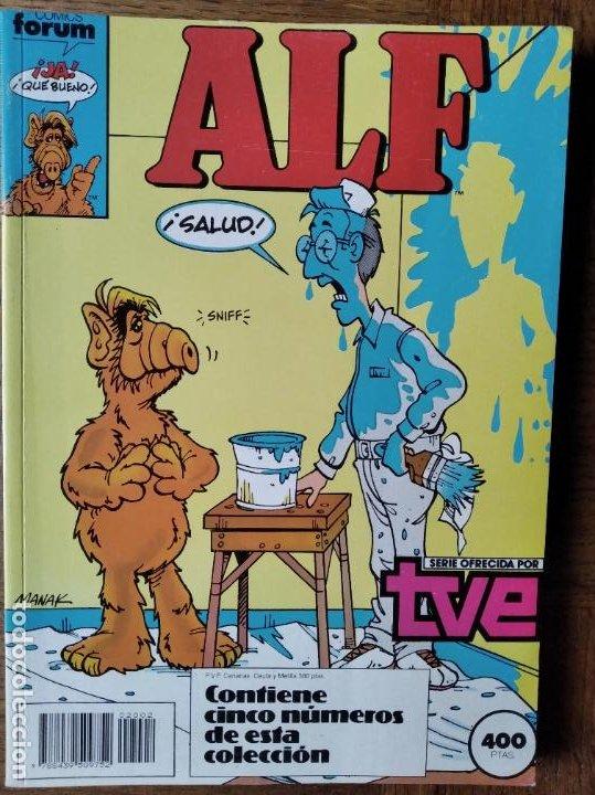ALF RETAPADO QUE CONTIENE DEL Nº 6 AL 11- FORUM (Tebeos y Comics - Forum - Retapados)