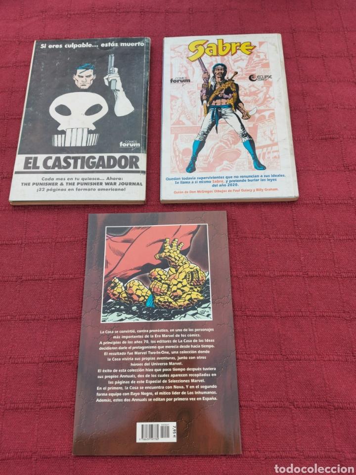 Cómics: LA COSA:RETAPADOS (1AL10)- SELECCIONES MARVEL LA COSA NOVA Y RAYO NEGRO-FORUM - Foto 5 - 215670550