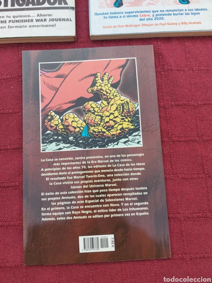 Cómics: LA COSA:RETAPADOS (1AL10)- SELECCIONES MARVEL LA COSA NOVA Y RAYO NEGRO-FORUM - Foto 6 - 215670550