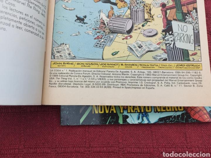 Cómics: LA COSA:RETAPADOS (1AL10)- SELECCIONES MARVEL LA COSA NOVA Y RAYO NEGRO-FORUM - Foto 19 - 215670550