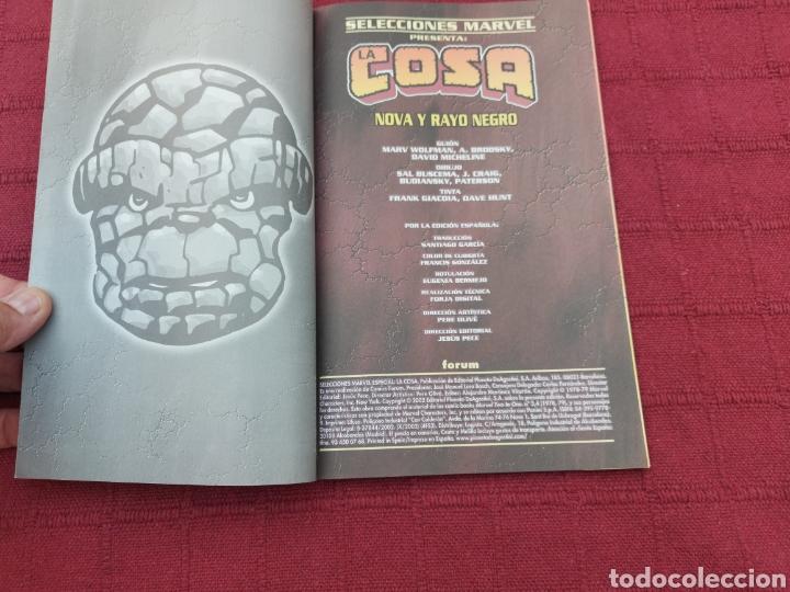 Cómics: LA COSA:RETAPADOS (1AL10)- SELECCIONES MARVEL LA COSA NOVA Y RAYO NEGRO-FORUM - Foto 20 - 215670550