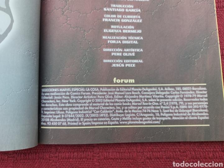 Cómics: LA COSA:RETAPADOS (1AL10)- SELECCIONES MARVEL LA COSA NOVA Y RAYO NEGRO-FORUM - Foto 21 - 215670550
