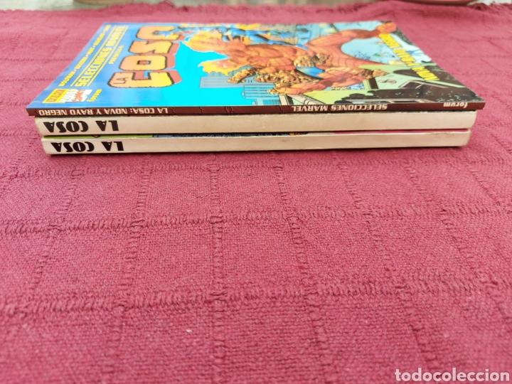 Cómics: LA COSA:RETAPADOS (1AL10)- SELECCIONES MARVEL LA COSA NOVA Y RAYO NEGRO-FORUM - Foto 27 - 215670550