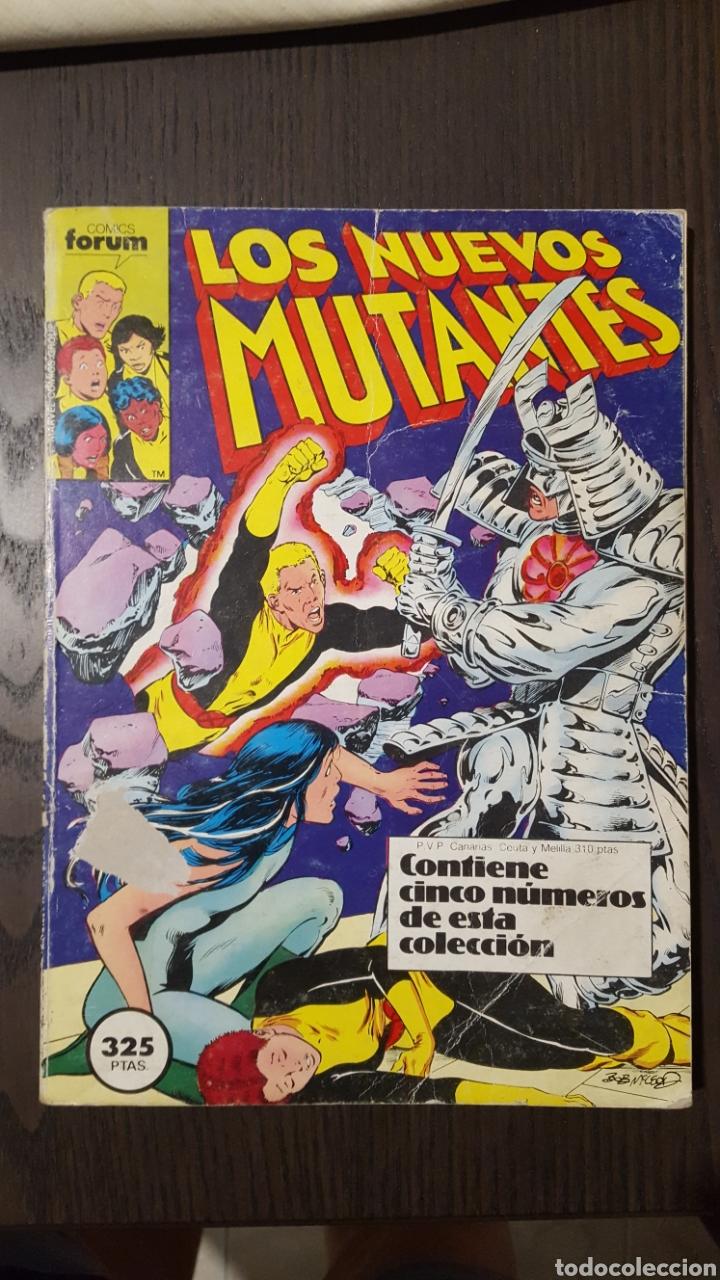 COMIC - LOS NUEVOS MUTANTES - THE NEW MUTANTS - FORUM RETAPADOS - NUMEROS 1 AL 5 (Tebeos y Comics - Forum - Nuevos Mutantes)