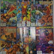 Cómics: LOS 4 FANTÁSTICOS HEROES REBORN 01 A 12 (COMPLETA). JIM LEE. FORUM. Lote 215735542