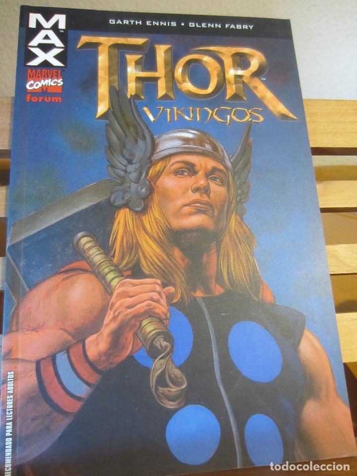 THOR- VIKINGOS- MAX- MARVEL COMICS- FORUM (Tebeos y Comics - Forum - Otros Forum)