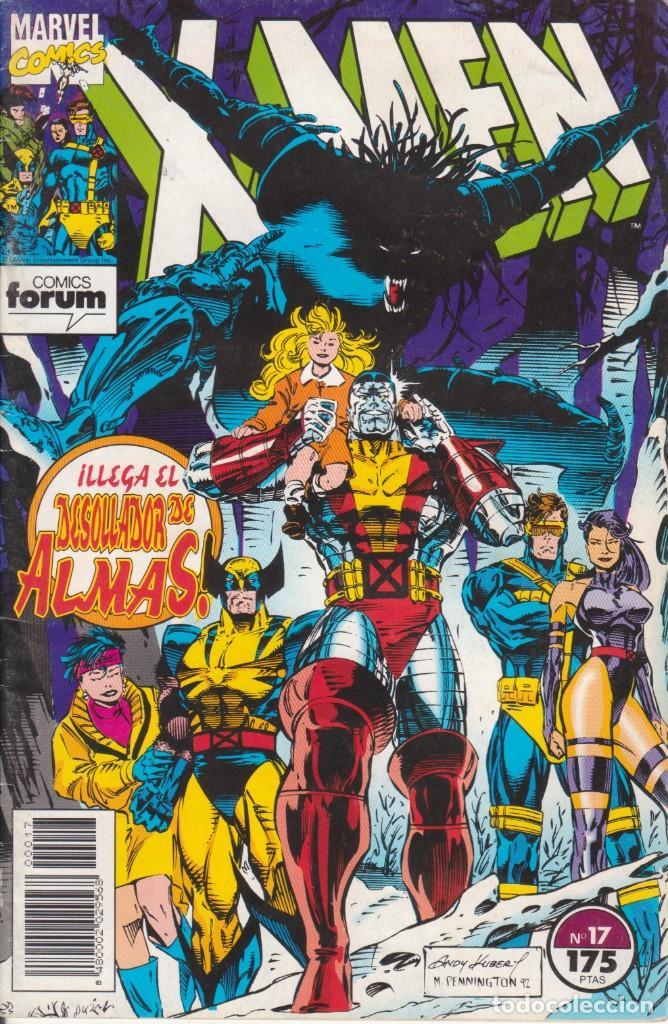 CÓMIC X-MEN Nº 17 ED. PLANETA / FORUM 34 PGS. 1993 (Tebeos y Comics - Forum - X-Men)