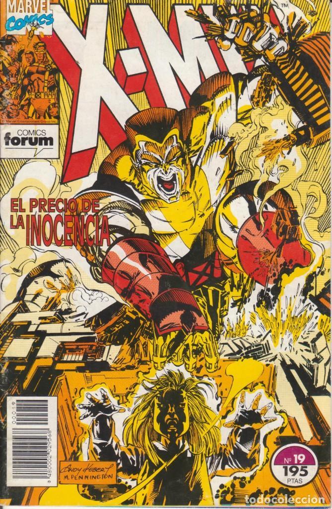 CÓMIC X-MEN Nº 19 ED. PLANETA / FORUM 34 PGS. 1994 (Tebeos y Comics - Forum - X-Men)