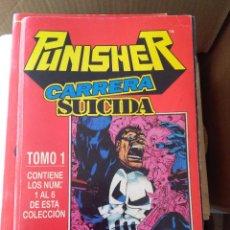 Cómics: CASTIGADOR CARRERA SUICIDA COMPLETA EN UN TOMO # G. Lote 215804138