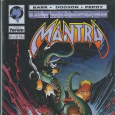 Cómics: MANTRA ULTRAVERSE Nº 6 FORUM. Lote 215813046