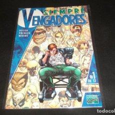 Cómics: SIEMPRE VENGADORES 1 DE 12 BUEN ESTADO. Lote 215818863