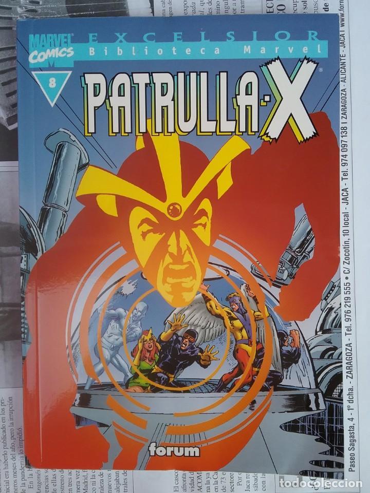 BIBLIOTECA MARVEL PATRULLA X NÚM. 8, B/N (Tebeos y Comics - Forum - X-Men)