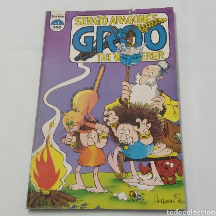 Cómics: Lote de cómics de GROO el Bárbaro de SERGIO ARAGONÉS, números 2 a 6 - Foto 4 - 215965771