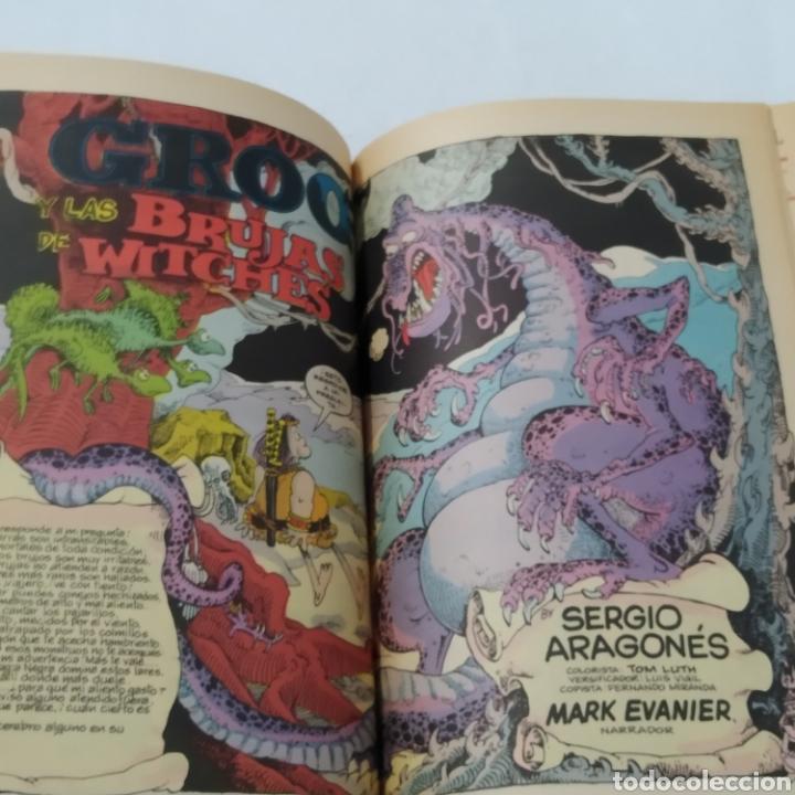 Cómics: Lote de cómics de GROO el Bárbaro de SERGIO ARAGONÉS, números 2 a 6 - Foto 5 - 215965771