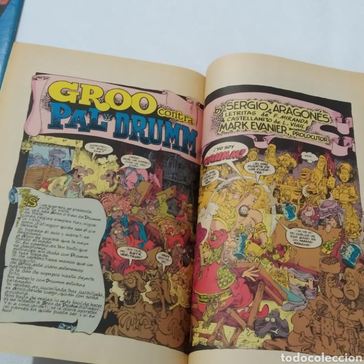 Cómics: Lote de cómics de GROO el Bárbaro de SERGIO ARAGONÉS, números 2 a 6 - Foto 8 - 215965771