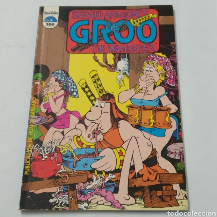 Cómics: Lote de cómics de GROO el Bárbaro de SERGIO ARAGONÉS, números 2 a 6 - Foto 16 - 215965771