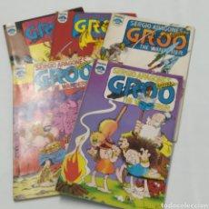 Cómics: LOTE DE CÓMICS DE GROO EL BÁRBARO DE SERGIO ARAGONÉS, NÚMEROS 2 A 6. Lote 215965771