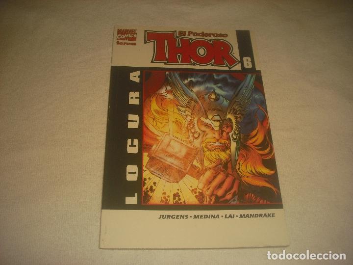 EL PODEROSO THOR N. 6. LOCURA. (Tebeos y Comics - Forum - Thor)