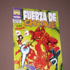 Comics : FUERZA DE CHOQUE: BAILANDO CON DEMONIOS Nº 9 DE 9. ABNETT, LANNING, CALAFIORE. FORUM, 1995. Lote 216215985