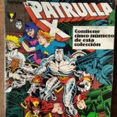 Cómics: PATRULLA-X V.1 RETAPADO DEL Nº 82 AL 86- SAGA EL NIDO Y LOS COSECHADORES + HULK Y DAREDEVIL. Lote 216415292