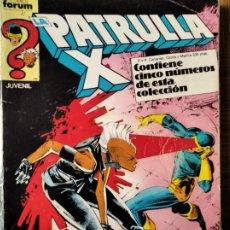 Cómics: PATRULLA-X V.1 RETAPADO DEL Nº 52 AL 56 - + RONDADOR NOCTURNO MINISERIE.. Lote 216415445