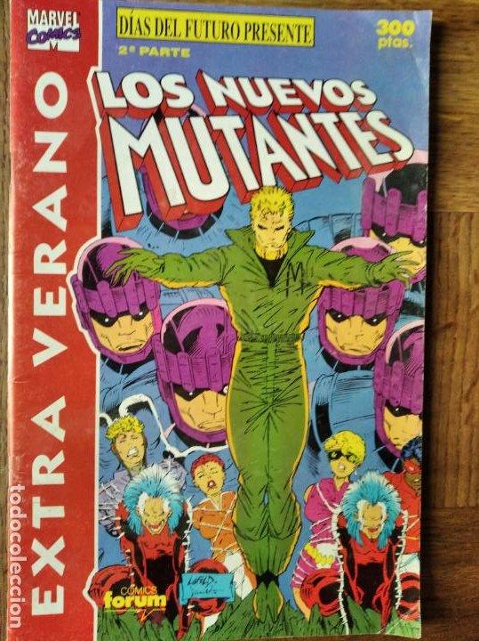 LOS NUEVOS MUTANTES - DIAS DEL FUTURO PRESENTE 2ª PARTE - EXTRA VERANO - FORUM (Tebeos y Comics - Forum - Nuevos Mutantes)