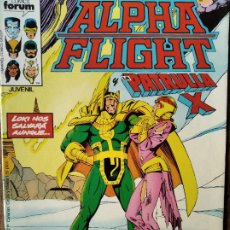 Comics : ALPHA FLIGHT V.1 Nº 23 - FORUM MARVEL.. Lote 216444550