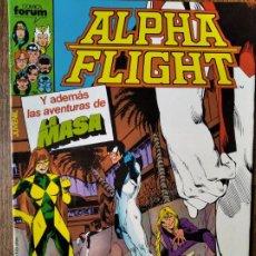 Comics : ALPHA FLIGHT V.1 Nº 25 & LA MASA - FORUM MARVEL.. Lote 216444630